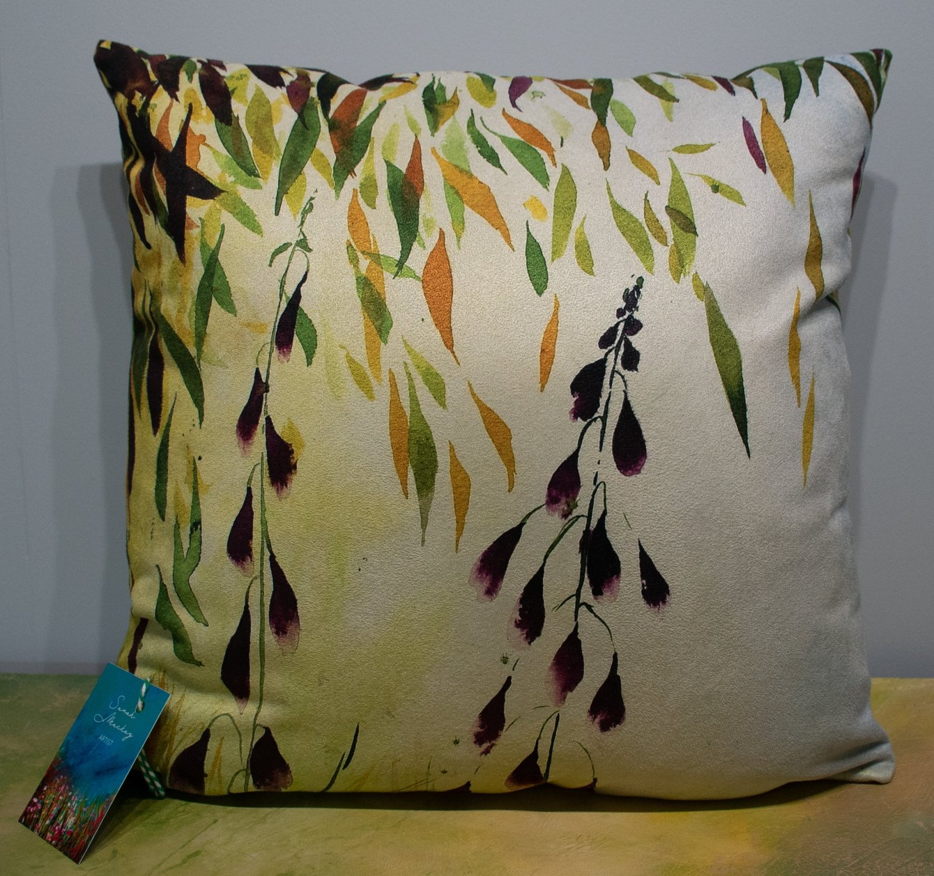 'Fairy Bells and Trees' Cushion