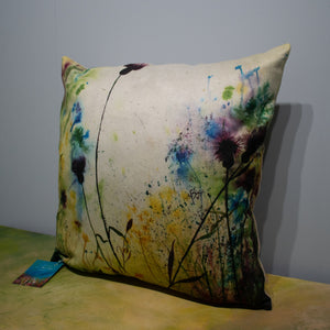 'Thistles in the Gold' Cushion
