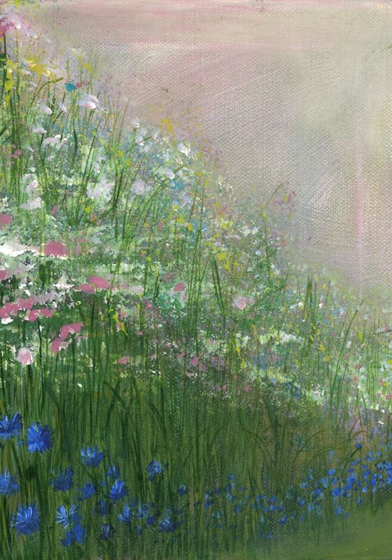 'Down with the Cornflowers' Giclee Print