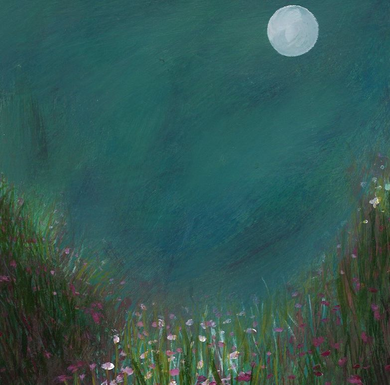 'Moonlit Pinks' Giclee Print
