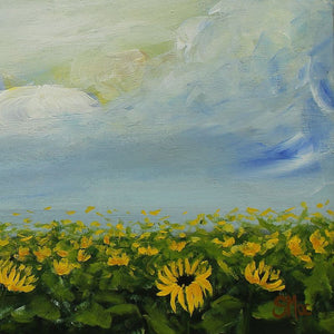 'Sunflowers for Days' Original Acrylic Painting