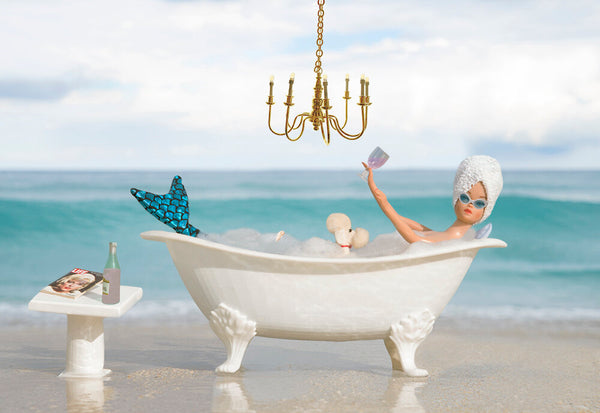 Mermaid Bath Time Barbie Photograph