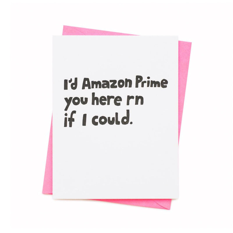 Amazon Prime Greeting Card