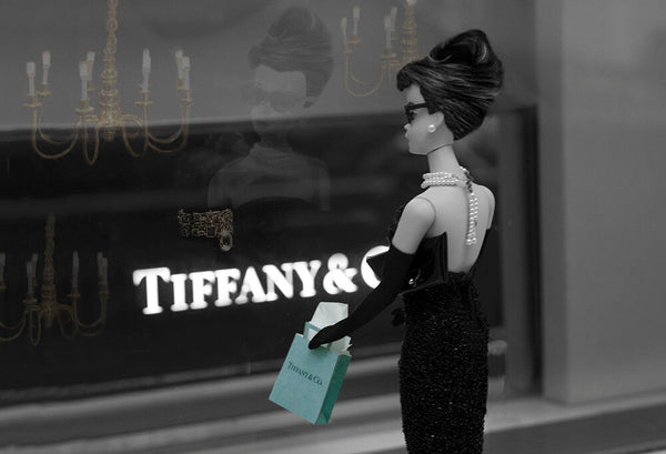 Breakfast at Tiffany's Barbie Photograph