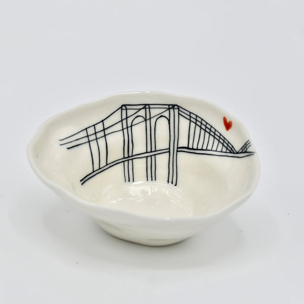 Brooklyn Bridge Medium Bowl