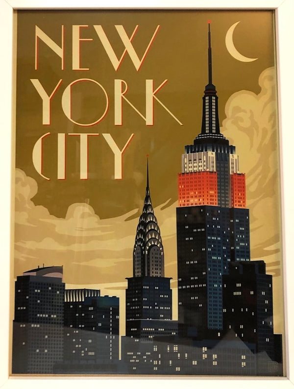 New York City Travel Print