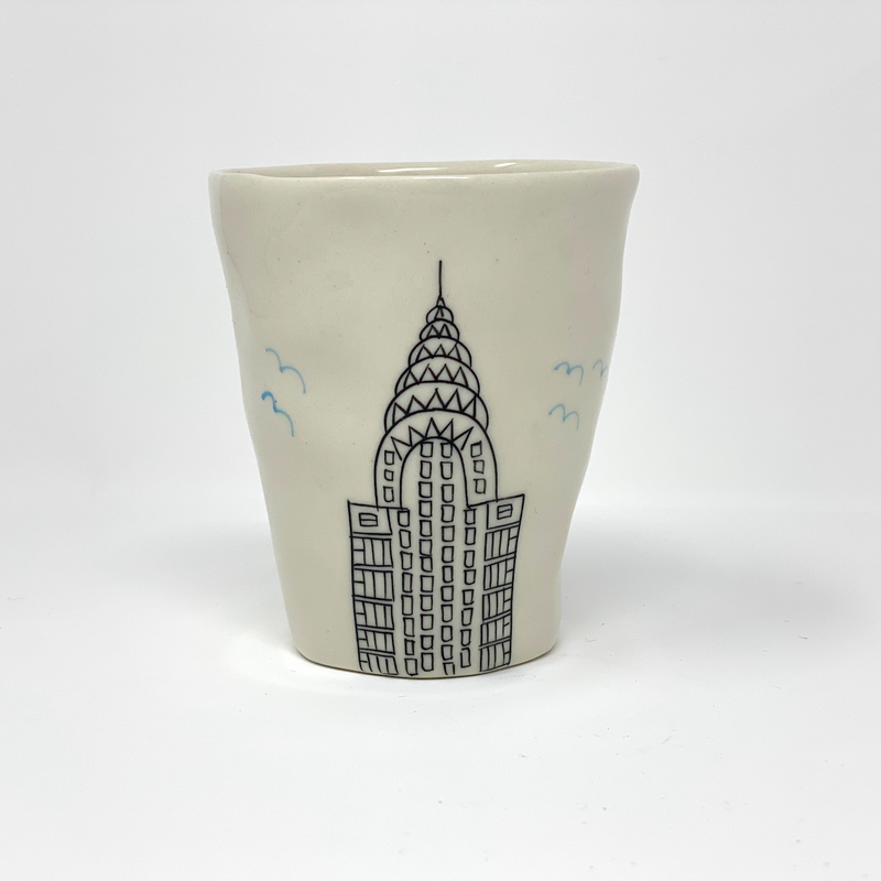 Chrysler Building Teacup