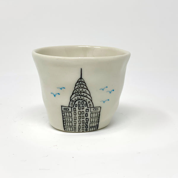 Chrysler Building Espresso Cup