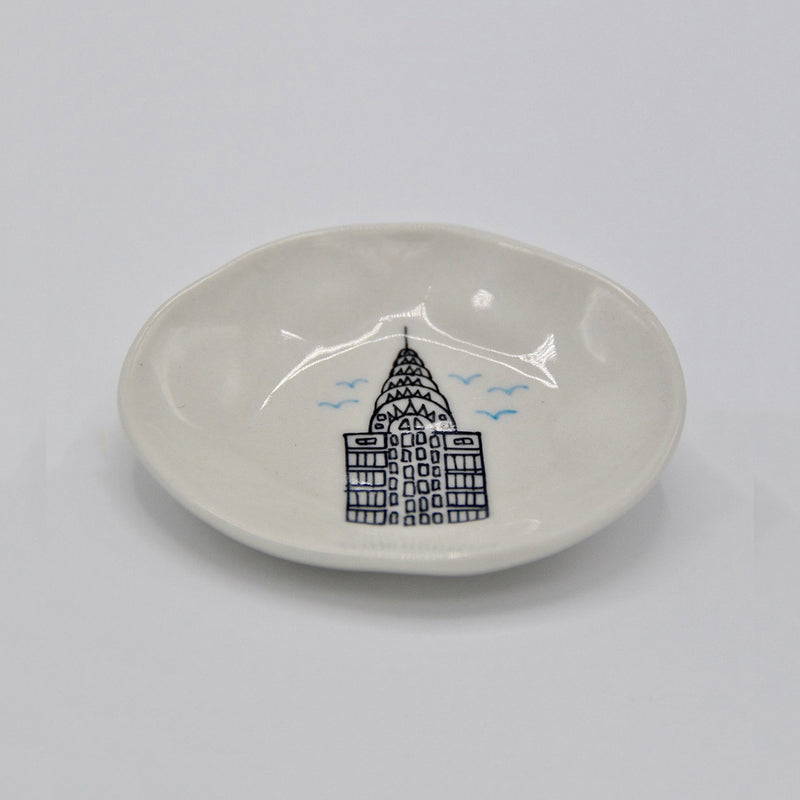 Chrysler Building Mini Plate