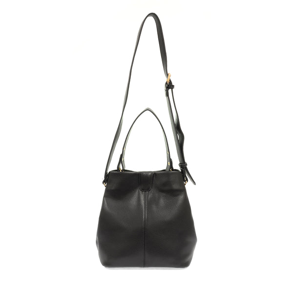 Vegan Leather Convertible Bag
