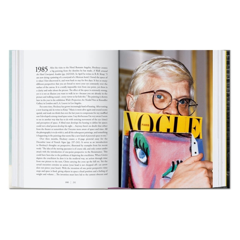 David Hockney. A Chronology.