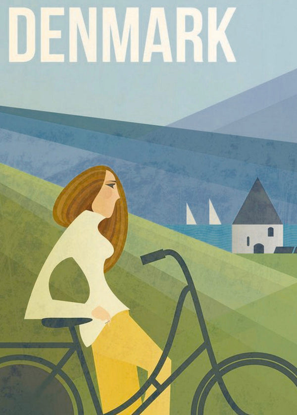 Denmark Travel Print