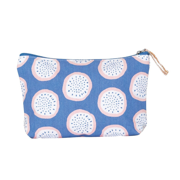 Dragonfruit Lavender Canvas Pouch