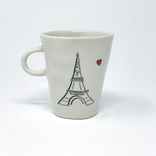 Eiffel Tower Teacup