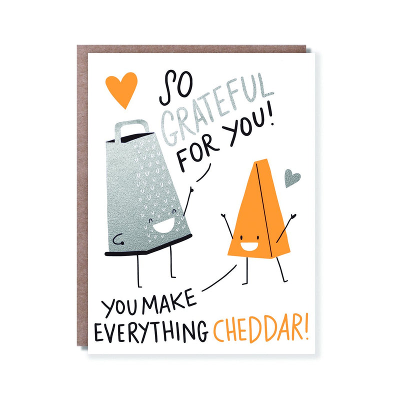 Cheddar Greeting Card