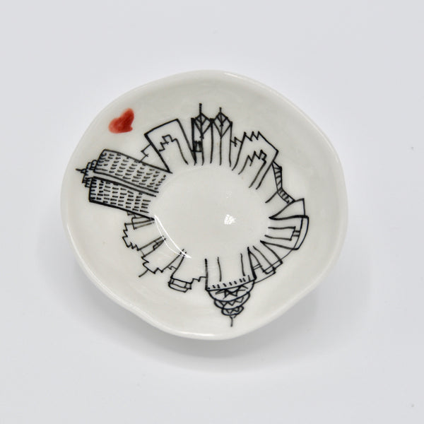 NYC Skyline Mini Bowl