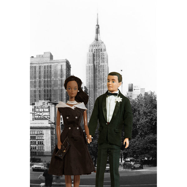 NYC Couple No.2 Barbie Photograph