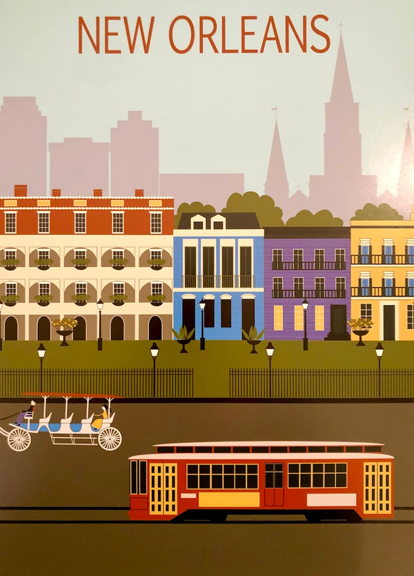 New Orleans Travel Print