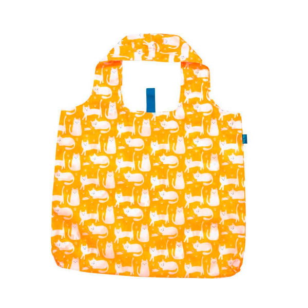 Reusable Yellow Cats Shopping Tote