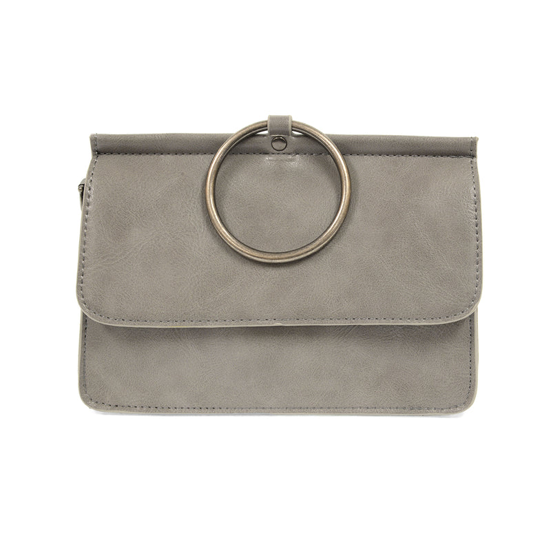 Vegan Leather Ring Bag