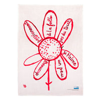 Virtues Theologales Tea Towel