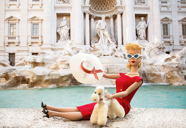 The Trevi Fountain Barbie Photograph