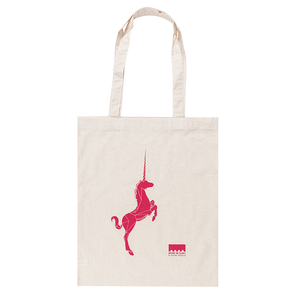 Red Unicorn Tote Bag