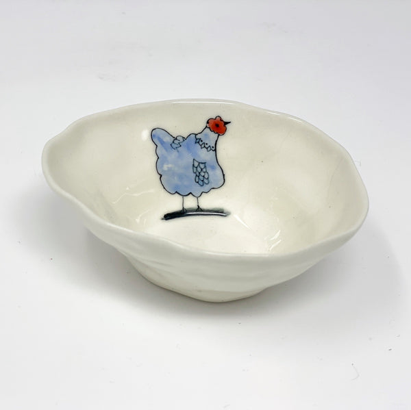 Blue Chicken Medium Bowl