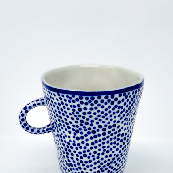 Blue Dot Teacup