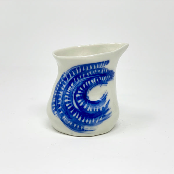 Blue Wave Mini Pitcher