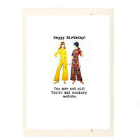 Mid Century Modern Birthday Card
