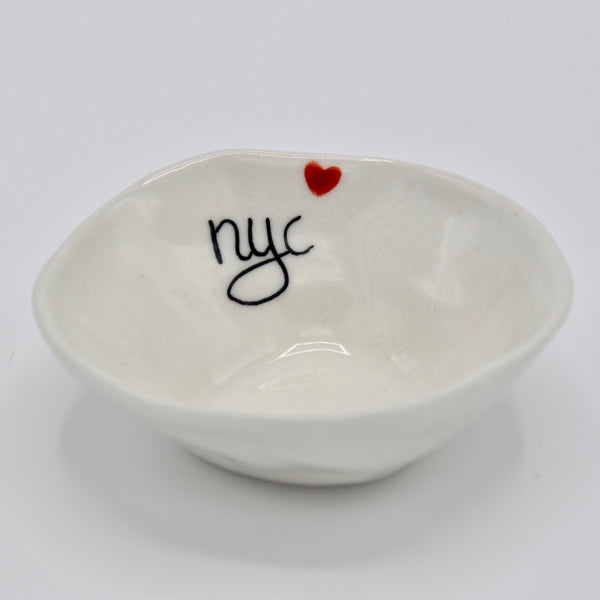 NYC Heart Mini Bowl