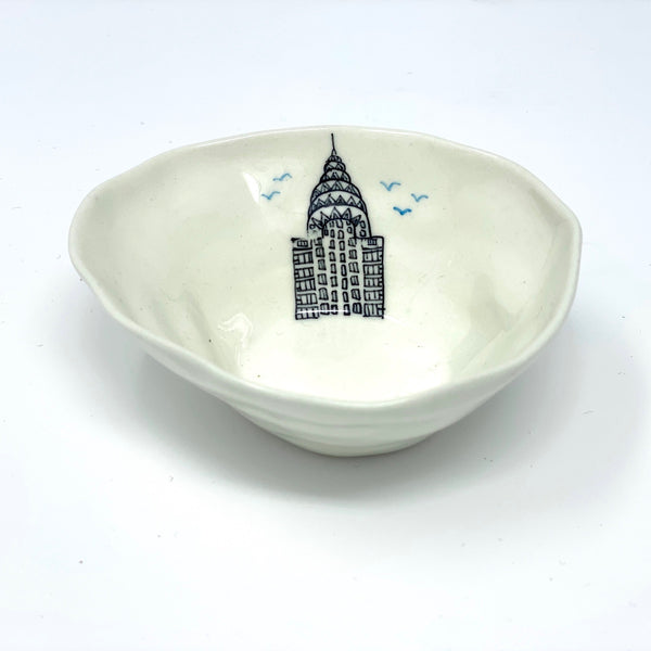 Chrysler Building Medium Bowl