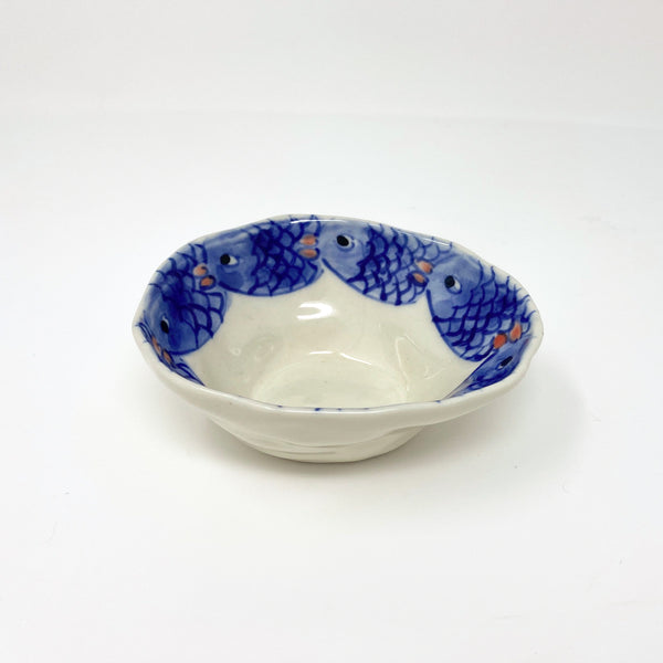 Blue Fish Medium Bowl