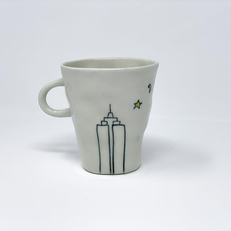 Empire State Building Teacup