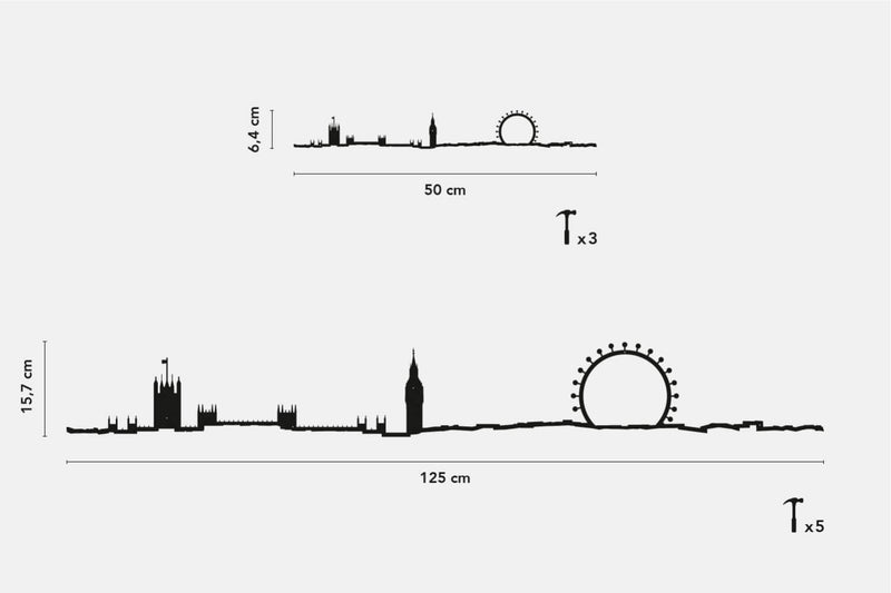 London Skyline Wall Art