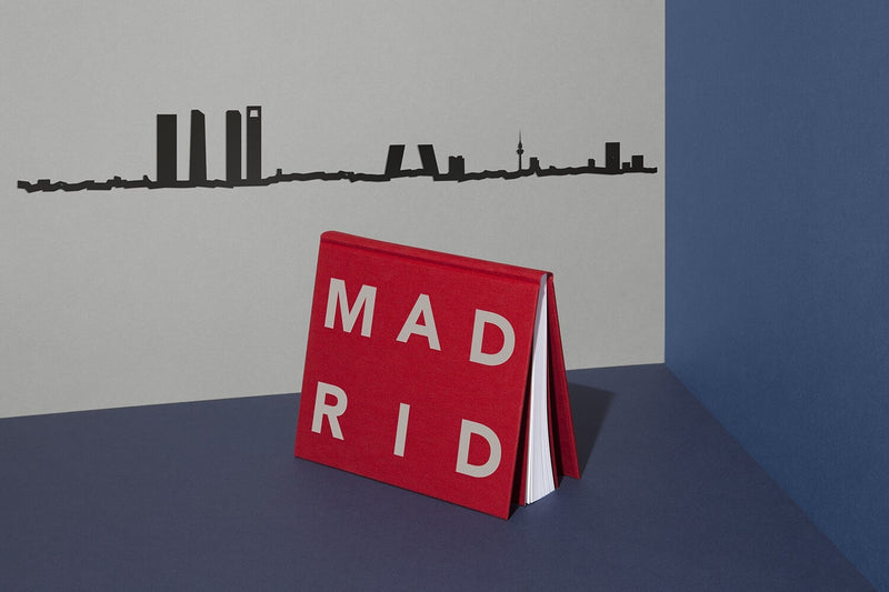 Madrid Skyline Wall Art