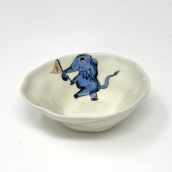 Marching Elephant Medium Bowl