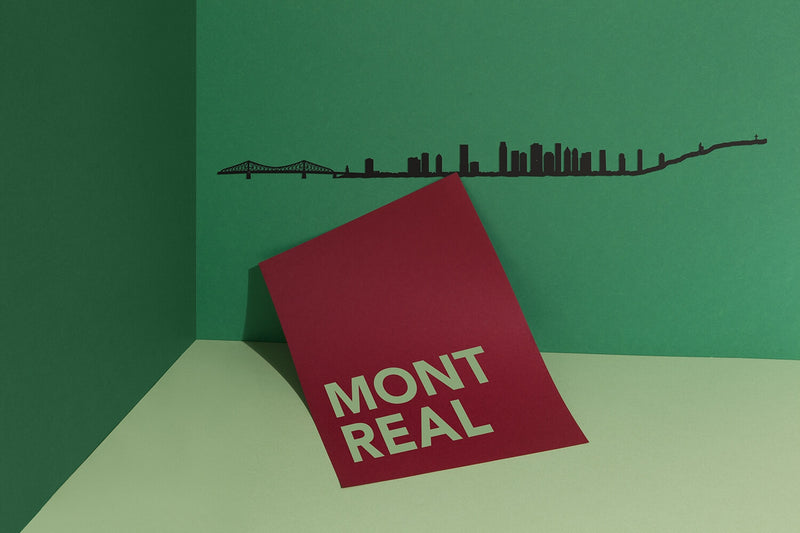 Montréal Skyline Wall Art