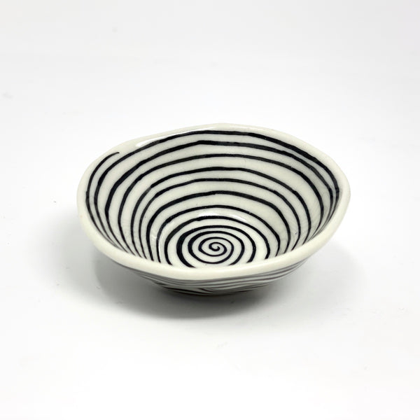 Black Circles Mini Bowl