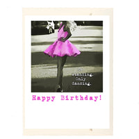 Only Dancing Birthday Card