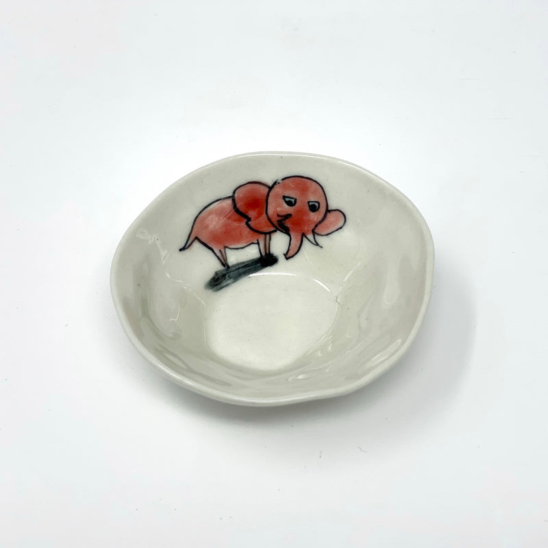 Red Elephant Mini Bowl