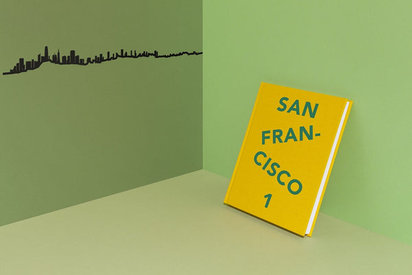 San Francisco Skyline Wall Art - 1