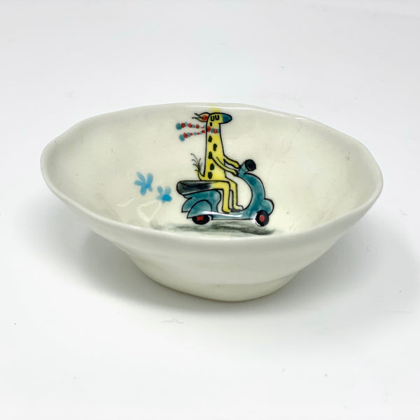 Vespa Giraffe Medium Bowl