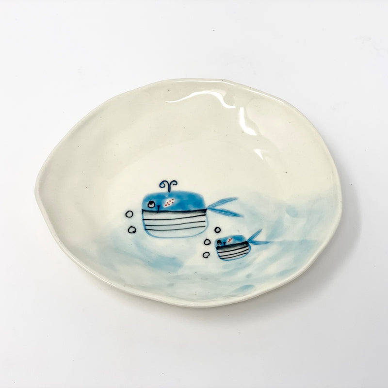 Whale Cake Plate