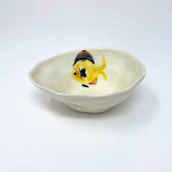 Yellow Fish Medium Bowl