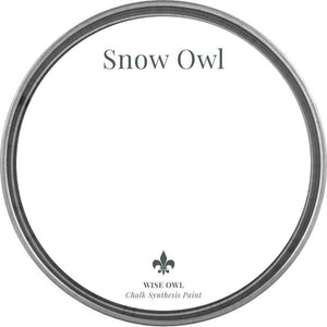 Wise Owl Paint - Snow Owl - Chalk Synthesis Paint
