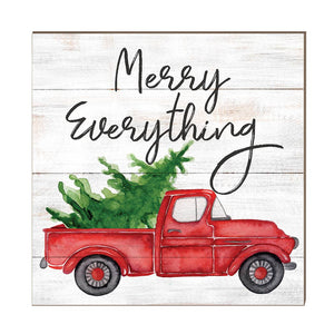 Kindred Hearts - 10x10 Merry Everything Truck with Tree Sign