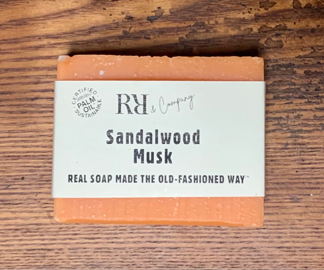 Sandalwood Musk soap - Rubbish Restyled