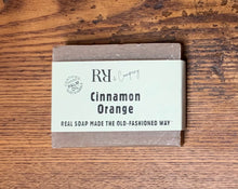 Load image into Gallery viewer, Cinnamon orange soap - Rubbish Restyled
